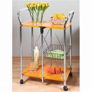 Table Roulante Pliante : photo table desserte roulante pliante ~ Dode.kayakingforconservation.com Idées de Décoration
