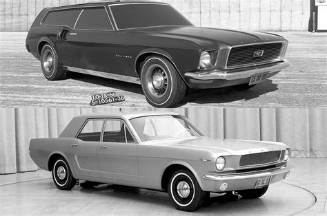 four door mustang top eight coolest ford mustang design studies w poll