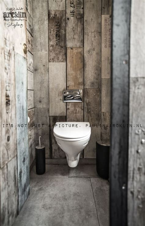decoration des toilettes design d 233 coration int 233 rieure wc toilettes papier peint trompe l œil illusion bois lambris gris