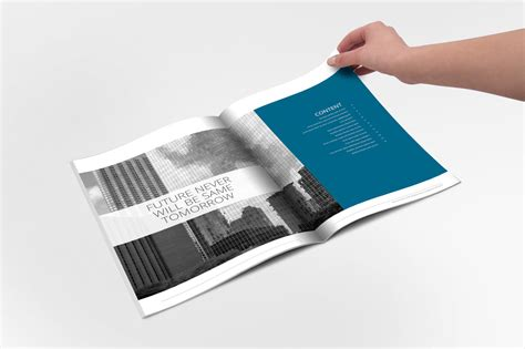 annual report indesign template brochure templates