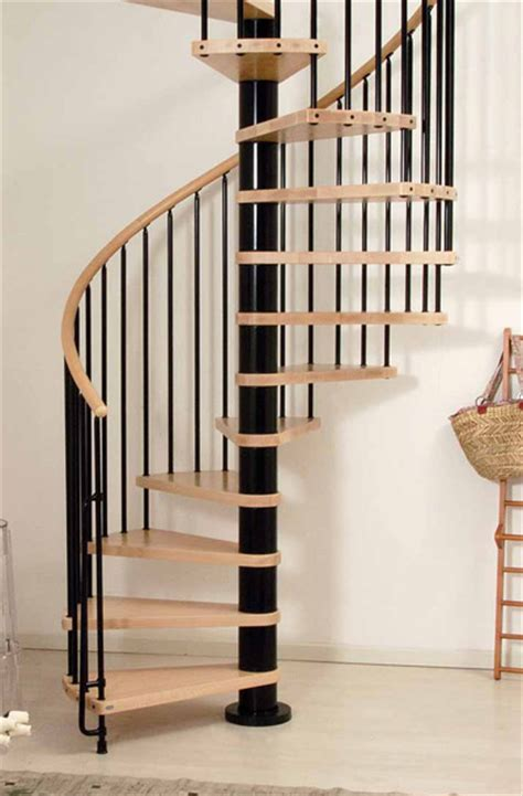 wood tread spiral staircase kit metal steel and wood spiral staircase fontanot