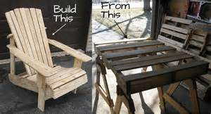 pdf diy diy adirondack chair from a pallet