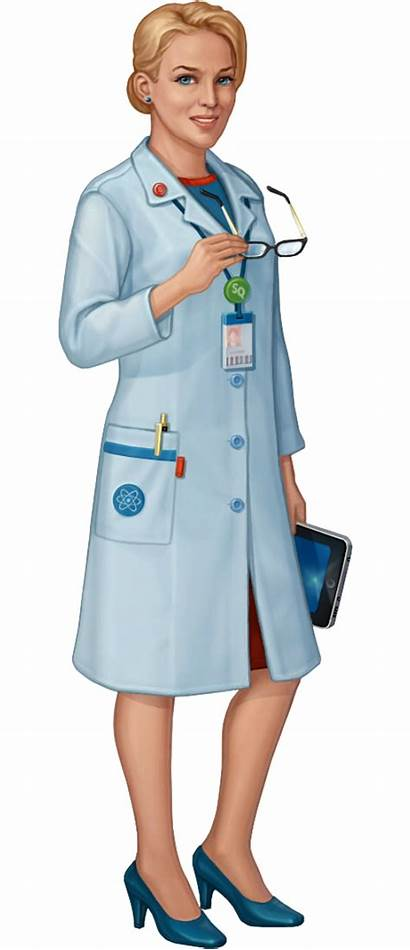 Scientist Female Character Transparent Pluspng Wikia Pngio