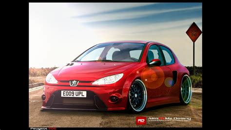 Peugeot 206 Tuning by Tuning Peugeot 206 115
