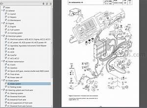 Valtra Valmet Series 6000 8000 Repair Manual  Tractor