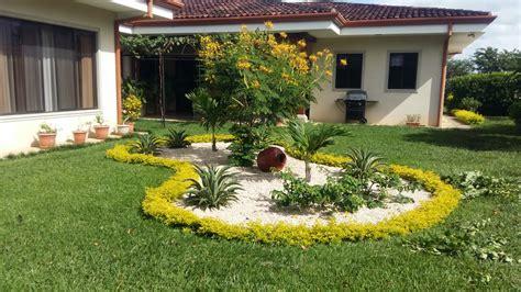 diseno de jardines liberia siguiendo  el diseno del