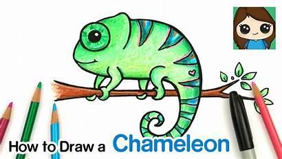 Chameleon Draw Easy