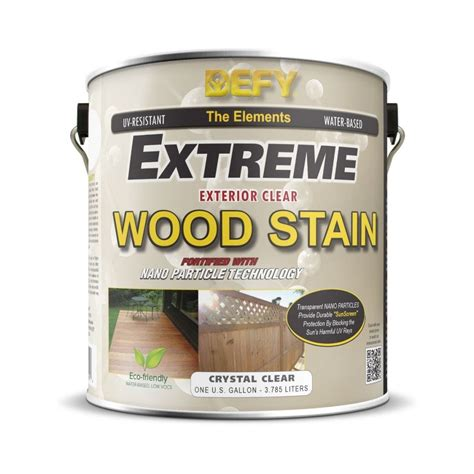 defy extreme clear wood stain defy wood stain