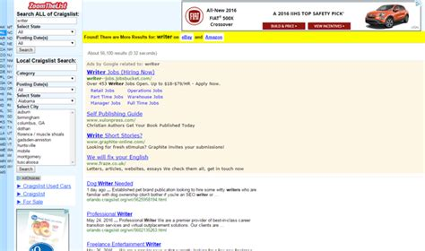 Craigslist Resume Search by Craigzoom A Craigslist Search Tool You Ve Likely