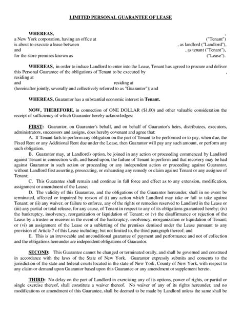 18288 resume exles for it magnificent personal guarantee template ideas resume