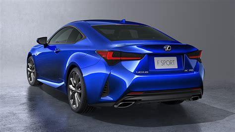 2019 Lexus Rc Borrowing Heavily From Its Fancier Siblings