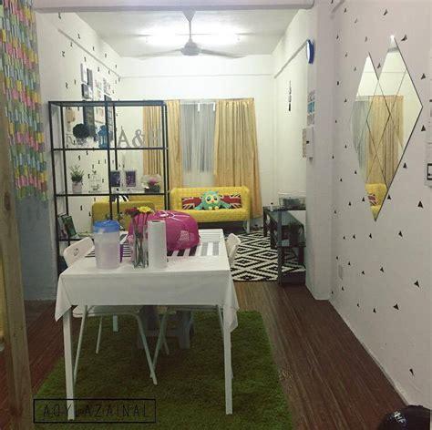 Dekorasi Menarik Gaya Ikea Di Rumah Flat Dengan Bajet Minima