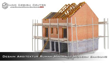 desain arsitektur rumah minimalis modern bandung jasa gambar