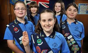 Australian Girl Guides Turn Their Backs On The Monarchy