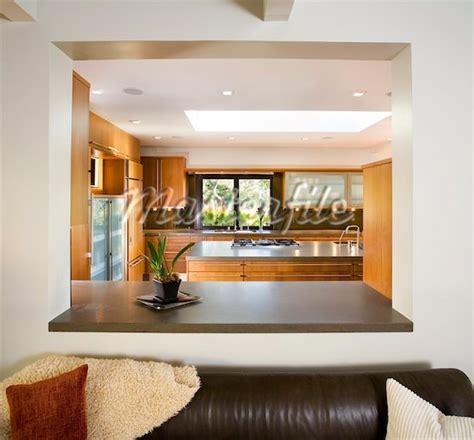 Kitchen Living Room Half Wall by Half Wall Between Kitchen And Living Room Kitchen Ideas