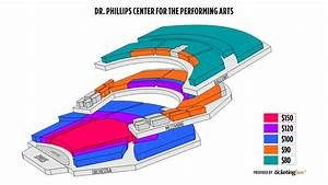 Dr Phillips Performing Arts Center Seating Chart