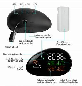 Multifunction Digital Electronic Weather Station Good