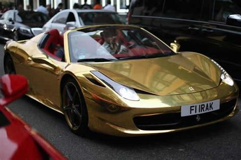 golden ferrari wallpaper black and gold ferrari 40 cool hd wallpaper