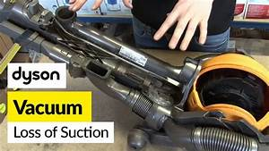 How To Fix Loss Of Suction In A Dyson Dc25 Vacuum Cleaner