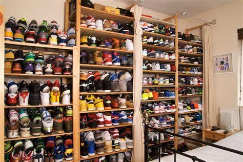 Extreme sneaker storage solutions   Nike, Adidas, reebok