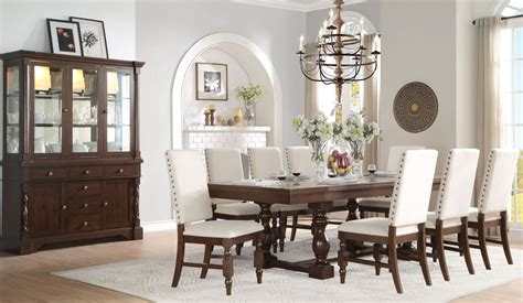 Yates Extendable Dining Room Set From Homelegance (516796