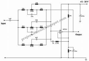 Electronics Technology  3 Band Equalizer Circuit