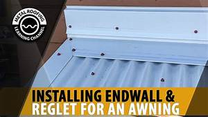 How To Install Metal Roof Endwall Flashing  Easy Step By