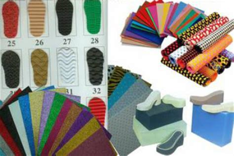 types  shoe making materials