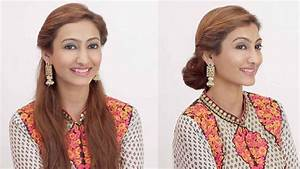 2 Hairstyles For Indian Wedding Occasions Day To Night