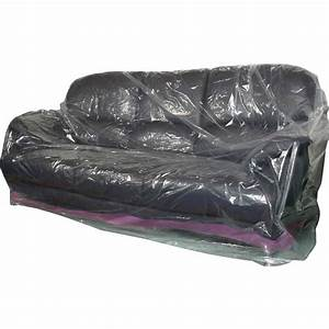 Sofa covers for moving storage authority llc thesofa for Plastic furniture covers for storage