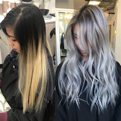 silver hair color formula silver toned platinum haircolor formula behindthechair