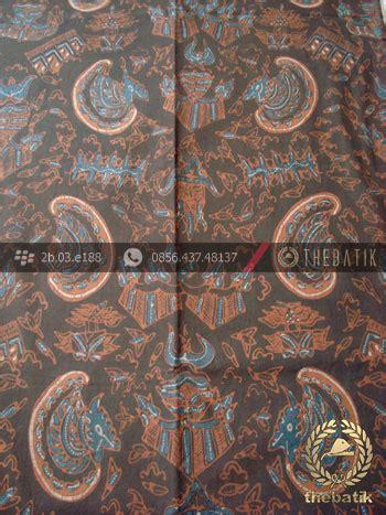 batik tulis warna alam motif romo latar hitam thebatik co id