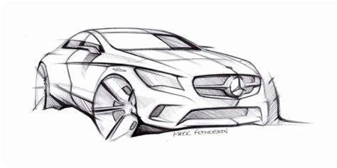 Concept Car Design Sketches