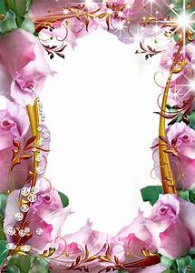Flower-Photo-Frame-Pink-Rose.png (914×1280) | mix pictures ...