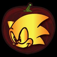 sonic  hedgehog  pumpkin stencil pumpkin stencil