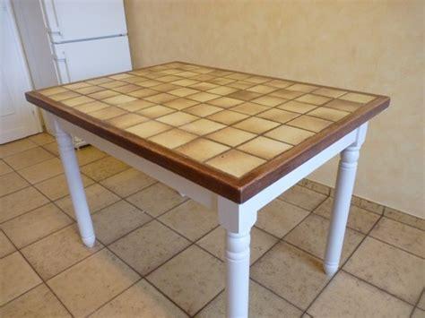 relooker une table de cuisine avant apres la renovation de meubles sans le decapage