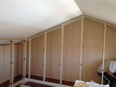 strutture per cabine armadio cabina armadio in mansarda