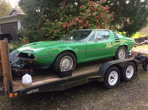 Alfa Romeo Montreal For Sale Usa by 1973 Alfa Romeo Montreal Lhd Specs Green 55k