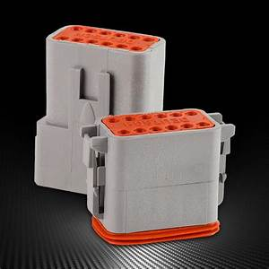 12 Pin Car Connector Waterproof Electrical Wire Auto