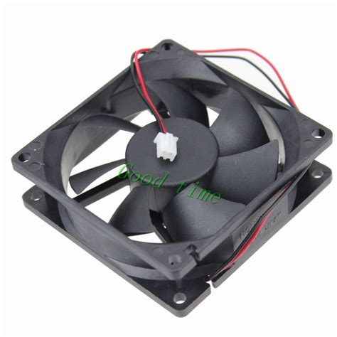 gdstime 3 quot 2 2 wire 24v 80mm computer case dc brushless cooling cooler fan 80mm 80mm