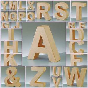 paper mache large cardboard letters signs 3d craft 17 With papier mache alphabet letters