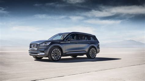 Ford Aviator 2020 by 2020 Lincoln Aviator Concept Goes In Hybrid At New