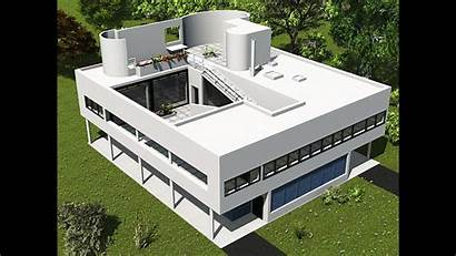 Corbusier Villa Savoye Building International Architecture Survey