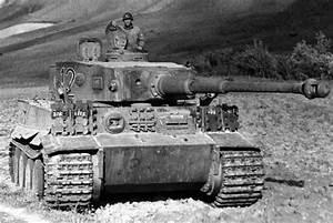 WWII German tanks - Panzer VI Tiger and Sturmpanzer VI Tiger