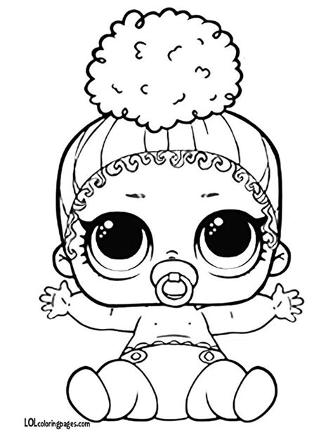 Lol Kleurplaat Lil by Lolcoloringpages Lil Touchdown Lol Doll Coloring Page