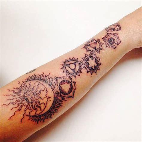 spiritual tattoos symbols meaning  design ideas