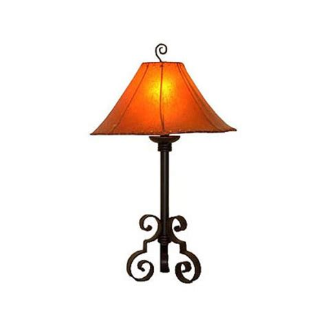hand  wrought iron table lamp uvagtl