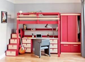 Hauteur Lit Mezzanine : lits mezzanines attique ~ Premium-room.com Idées de Décoration