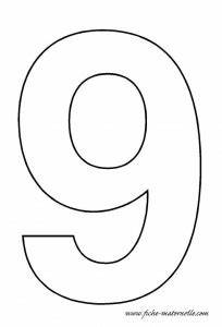 27 images of printable number 9 template infovianet With number 9 cake template