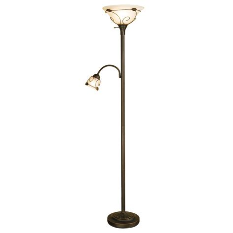 2 bulb torchiere floor l creativeworks home decor floor lamps